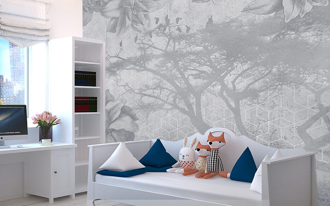 4 ideas of wallpapers for home decor