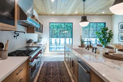 Scandinavian design kitchen